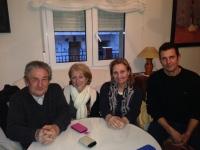 14-03-2014: La diputada nacional Maravillas Falcón y la diputada provincial Isabel Serrano se han reunido con militantes del PP de Salobre de cara a los comicios europeos del 25 de mayo.