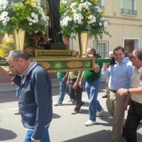 16-05-2014: Apoyando las tradiciones en la romería de La Roda.