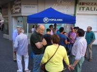 17-06-2016: Mesa informativa del PP en la Plaza de San José de Albacete.