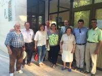 09-06-2016: La secretaria provincial del PP, Cesárea Arnedo, informó sobre el 26-J a los simpatizantes del PP en Tinajeros.