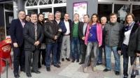 18-12-2015: En Tobarra, mesa informativa del PP con los candidatos Francisco Molinero y Marcial Marín.