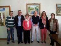 07-04-2014: Los diputados provinciales Fermín Gómez y Félix Diego Peñarrubia mantuvieron una reunión con el PP de Valdeganga.