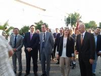 06-10-2012: El presidente del PP, Francisco Núñez, con diputados y cargos públicos de La Manchuela del Partido Popular, acompañan a Fermín Gómez, en las fiestas patronales de Valdeganga, en honor a la Virgen del Rosario.