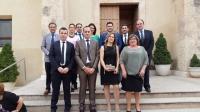 04-10-2015: Concejales de la comarca y cargos públicos del PP arroparon al alcalde de Valdeganga, Fermín Gómez, en el inicio de las fiestas patronales en honor a la Virgen del Rosario.