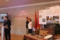 10-09-2012: Núñe promociona los valores naturales y agroalimentarios de Villapalacios.