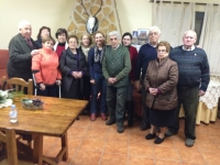 13-03-2014: La diputada nacional Maravillas Falcón y la diputada provincial Isabel Serrano han mantenido una reunión de trabajo con el PP de Villapalacios para animar a sus militantes a participar de forma activa en las elecciones europeas del próximo mes de mayo.