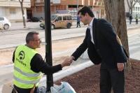 14-04-2015: Javier Cuenca visita el barrio Cañicas.