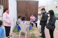 05-05-2015: Javier Cuenca visita el barrio La Estrella.