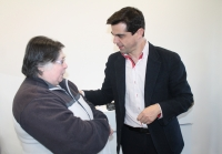 04-03-2015: Javier Cuenca visita el barrio San Antón.