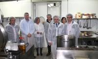 29-04-2015: Javier Cuenca y Leandro Esteban visitan Copriser.