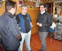 10-04-2015: Javier Cuenca visita el barrio de Franciscanos.