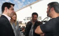 03-03-2015: Javier Cuenca visita Los Invasores.