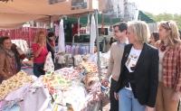 21-04-2015: Javier Cuenca y Carmen Casero visitan Los Invasores.