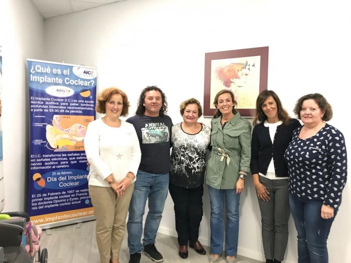 Un momento de la reunión, en la sede de Aicclam, en Albacete.