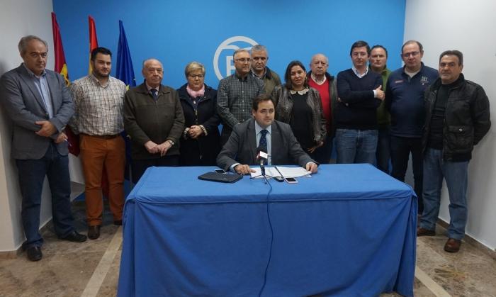 Reunión en Almansa de la Comisión de Agricultura del Partido Popular.