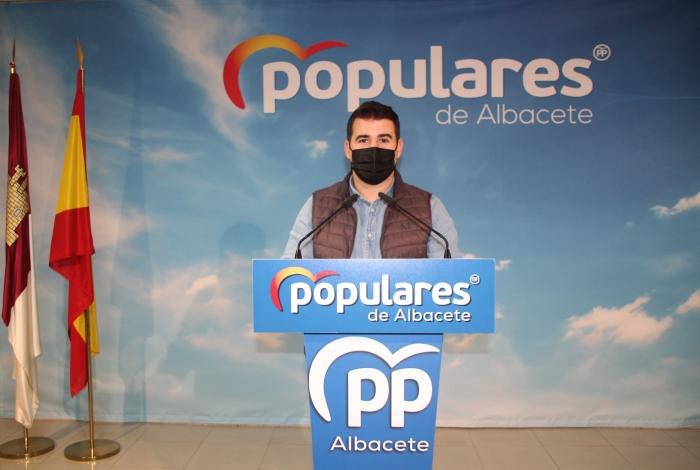 Juan Carlos González, presidente de NNGG de Albacete