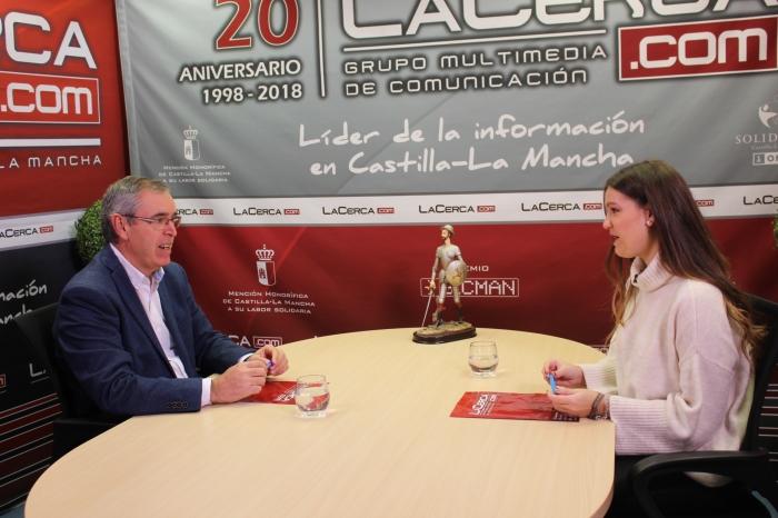 Vicente Aroca, entrevistado en La Cerca Tv.