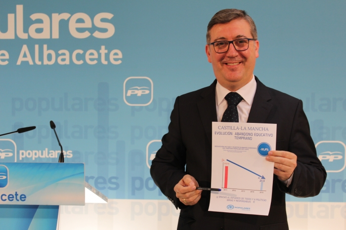 Marcial Marín, senador del PP por Albacete.