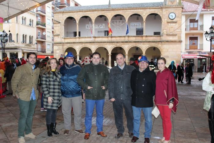 Presencia del PP en el Carnaval de Villarrobledo.