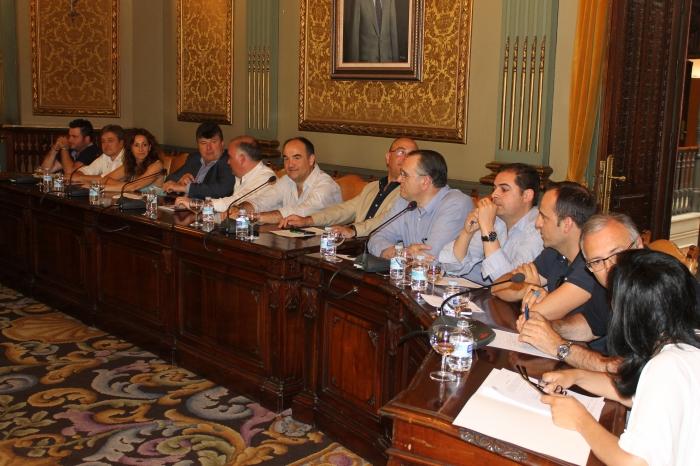 Grupo Popular en la Diputación de Albacete.