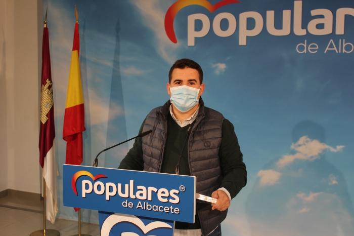 Juan Carlos González, presidente de NNGG en Albacete.