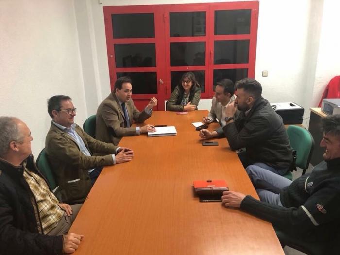 Reunión de Francisco Núñez con la Junta Local del PP de Villamalea.