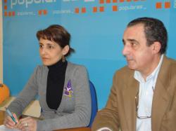 Sonia Martínez y Manuel Mínguez.