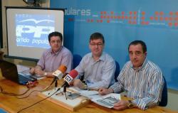 Juan A. Moreno, Marcial Marín y Manuel Mínguez.