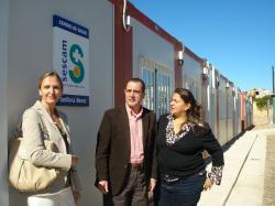 Cesárea Arnedo, Carmen Casero y Manuel Mínguez.
