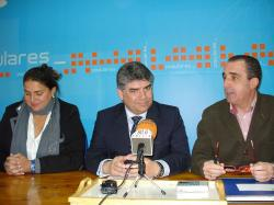 Cesárea Arnedo, Carlos Cotillas y Juan Marcos Molina.