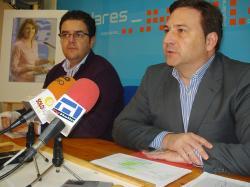 Juan Antonio Moreno y José Luis Teruel, en Hellín.