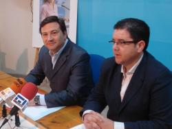 José Luis Teruel y Juan A. Moreno Moya, en Hellin.