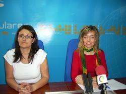 Amalia Gutiérrez e Inmaculada López.