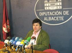Antonio Serrano, portavoz del PP en la Diputación Provincial.