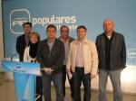 Alcaldes del PP de Alcaraz y Montiel.