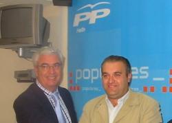 José María Barcina y Antonio Callejas.