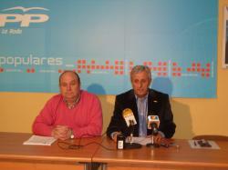 Francisco Blasco y Sixto González.
