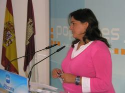 Cesárea Arnedo, diputada regional del PP.