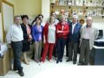 Carmen Bayod, se entrevistó con la Junta Directiva de la Asociación de Vecinos del barrio Parque Sur