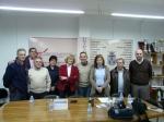 Carmen Bayod con los representantes de las asociaciones de vecinos