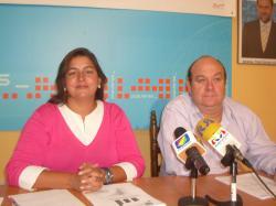 Cesárea Arnedo y Francisco Blasco.