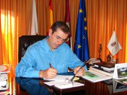 Vicente Aroca, alcalde de La Roda.