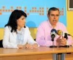Delfina Molina y Vicente Aroca.