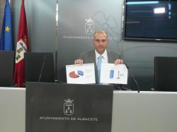 El concejal del Ayuntamiento de Albacete, Díaz de Prado.