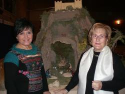 Antonia Ruipérez y Josefina Corominas.