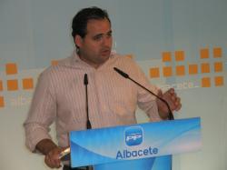 Francisco Núñez, presidente regional de NNGG.