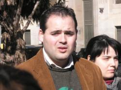 Francisco Núñez, coordinador regional de NNGG.