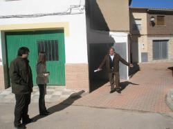 Ana Fuster, Antonio Serrano y José del Rey.