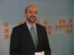 Juan Marcos Molina, portavoz del Partido Popular de Albacete.
