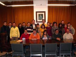 Constitución de Nuevas Generaciones en Lezuza.